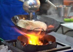 Stir Fry Noodle Vendor, Best Sukhumvit 38 Street Food, Bangkok