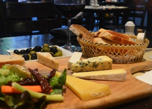 Olives and Cheese Platter, Living cheap in Bangkok Thailand