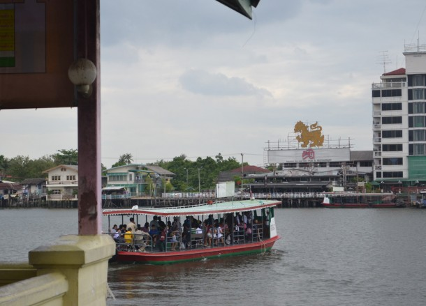 Boats, Nonthaburi Pier, Attractions in Nonthaburi, Bangkok