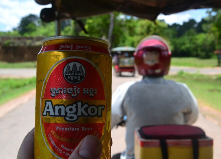 Refreshing Angkor Beer, Introduction to Angkor Wat Two Day Tours
