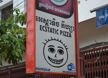 Ecstatic Pizza Joint, Marijuana Happy Pizzas in Siem Reap