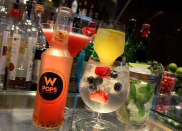 Cocktails at Woobar, Coolest Design Hotels in Bangkok Party Hotels