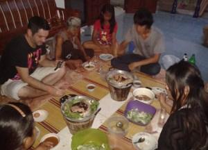 Sharing Moo Kata, Isaan Tours and Phanom Rung Thailand