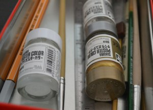 Poster Paints and Brushes, Suriving Power Outages in Bangkok