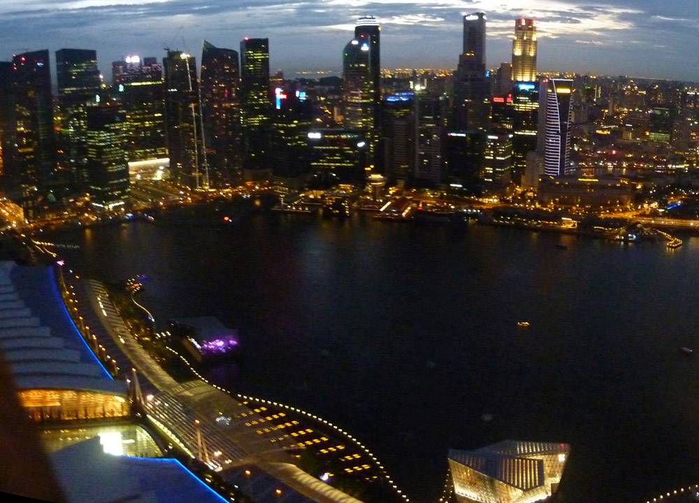 City View at Night. Why travellers hate Singapore?