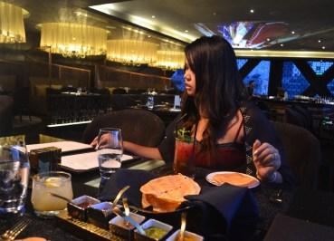 Poppadoms and Chutneys, Maya Indian Restaurant Bangkok
