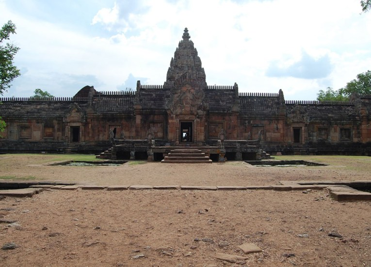 Upper Sanctuary, Prasat Phanom Rung Historical Park, Buriram Isaan Thailand