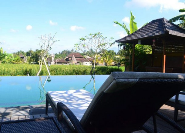 Rice Field Views, Top 10 Ubud Resorts, Spas. Bali Hotels