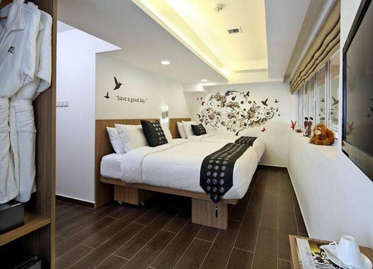 Best Design Boutique Hotels in Singapore, Clover the Arts