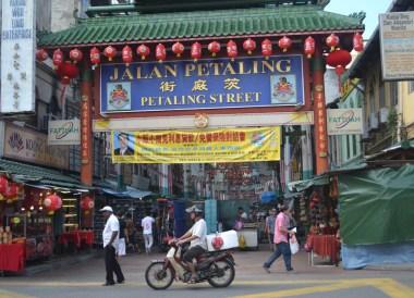 Chinatown Street, best tourist areas in kuala lumpur