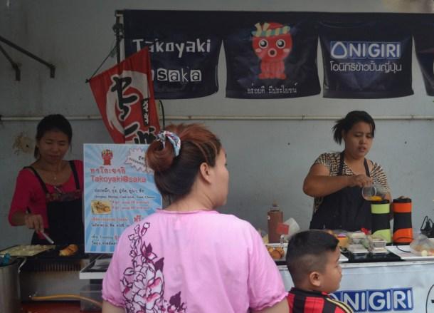 International Street Food in Bangkok Takoyaki Balls