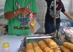 International Street Food in Bangkok, Tornado Fries