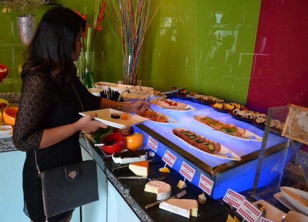 Best Views of Petronas Towers, Breakfast Buffet
