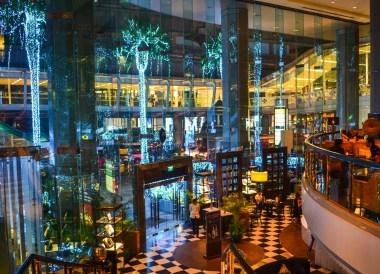 Hotel Lobby at Intercontinental Bangkok Hotel Review, Chit Lom