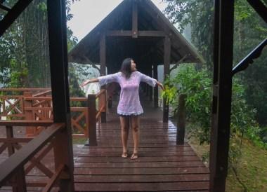 Monsoon Season in Brunei, Phobias in Borneo Rainforests