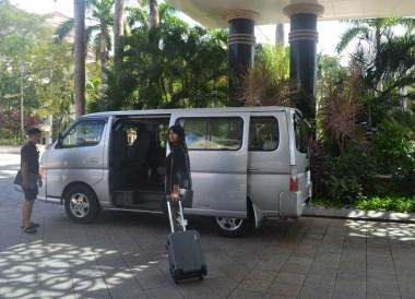 Minibus Pickup in Brunei, Phobias in Borneo Rainforests