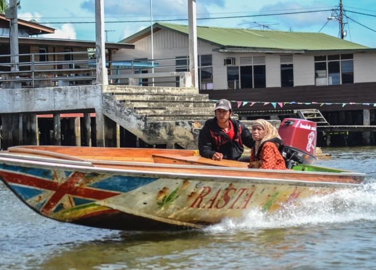 Old Water Villages, Top Attractions in Brunei Tourist Areas