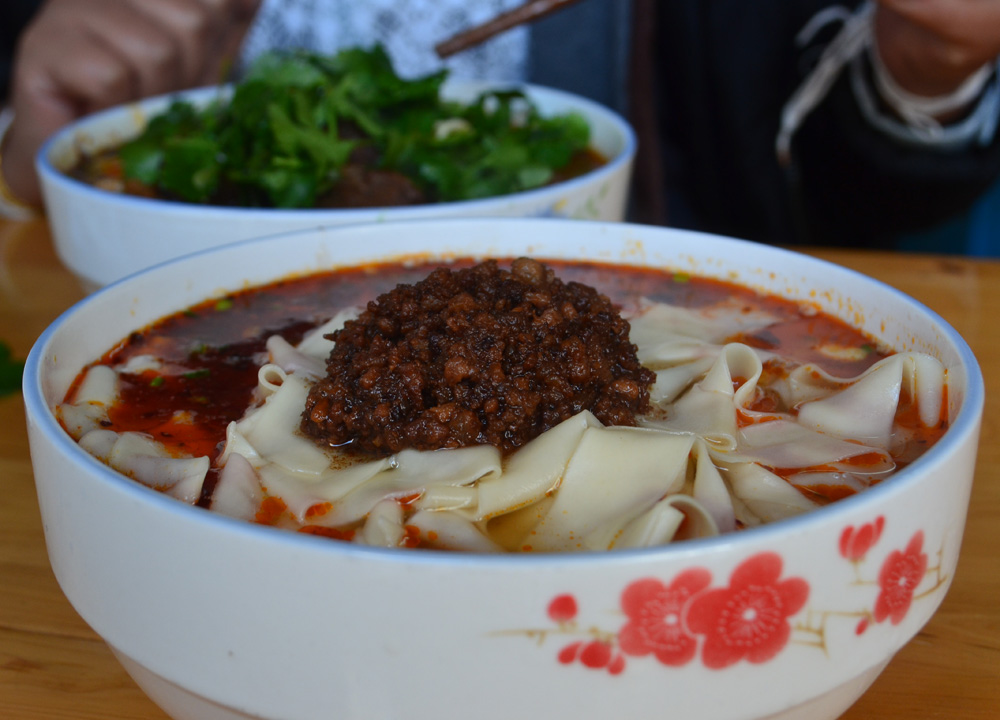Noodle Soups, Chongqing to Wulong Karst Day Tour by Bus