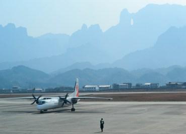 Zhangjiajie Airport, Long Distance Travel in China Beginners