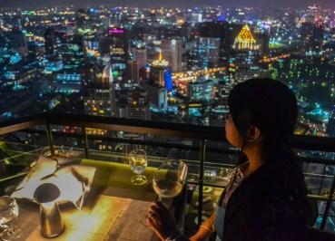 Panoramic Views, Vertigo Rooftop Restaurant Bangkok Moon Bar