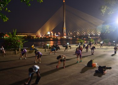 Rama 8 Bridge, best places for cycling in Bangkok