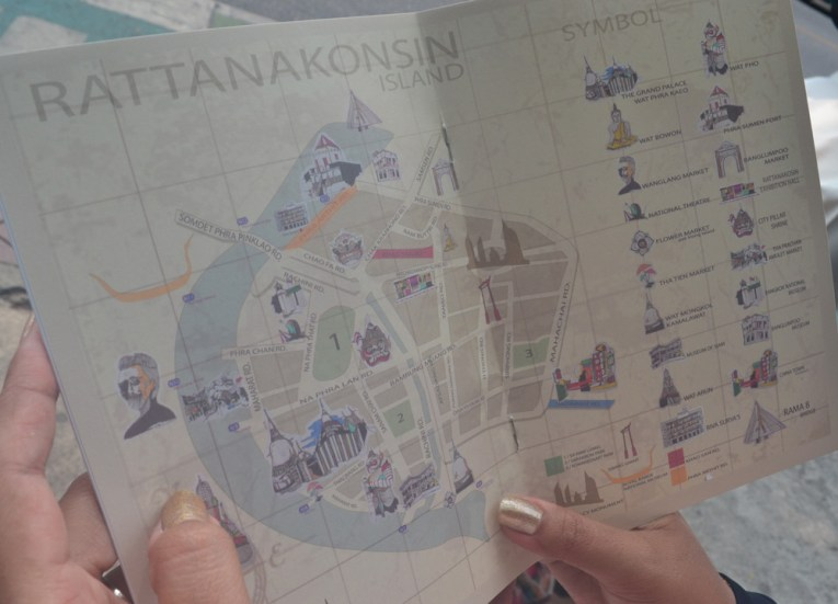 Rattanakosin Island, Best Places for Cycling in Bangkok Safely (Thailand)