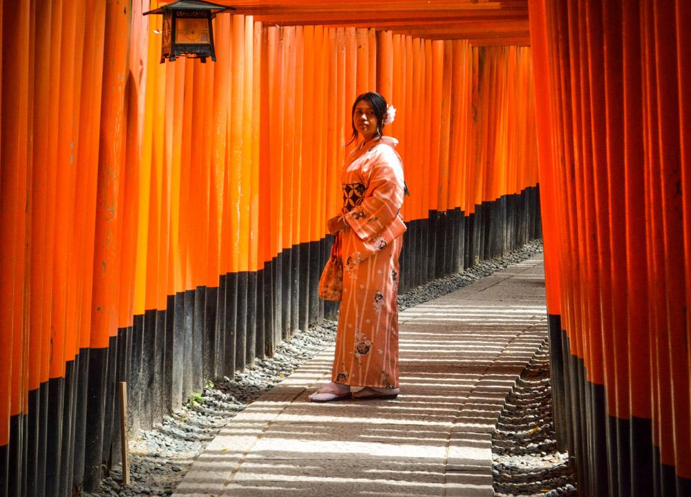 Fushimi Inari, 2 Week JR Pass, Japan Train Travel