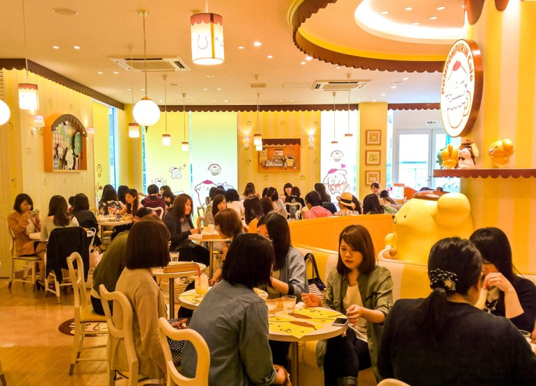 Pompompurin Cafe, Best Themed Cafes and Restaurants in Tokyo