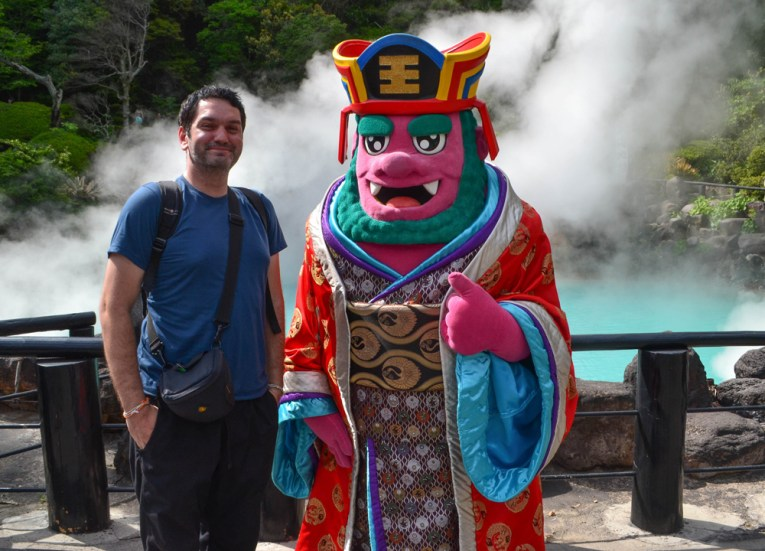 Cool Characters, 8 Hells of Beppu by JR Pass, Japan Travel