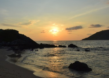 Random Sunsets, Best Areas to Stay in Phuket Phang Nga Bay