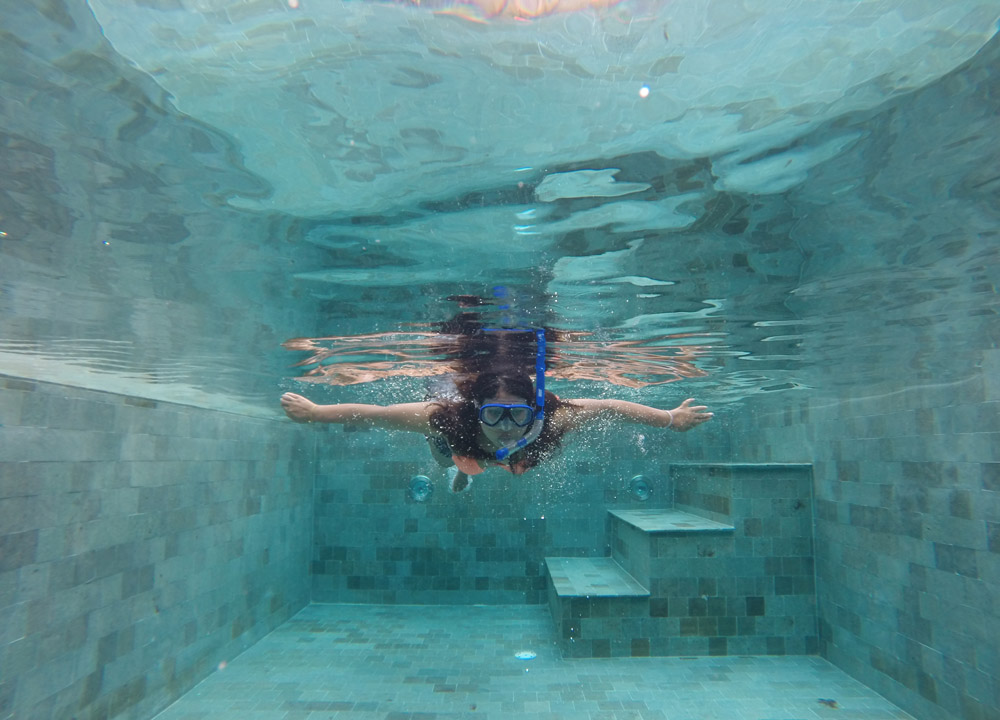 Underwater swimming, Anantara Vacation Club Mai Khao Phuket