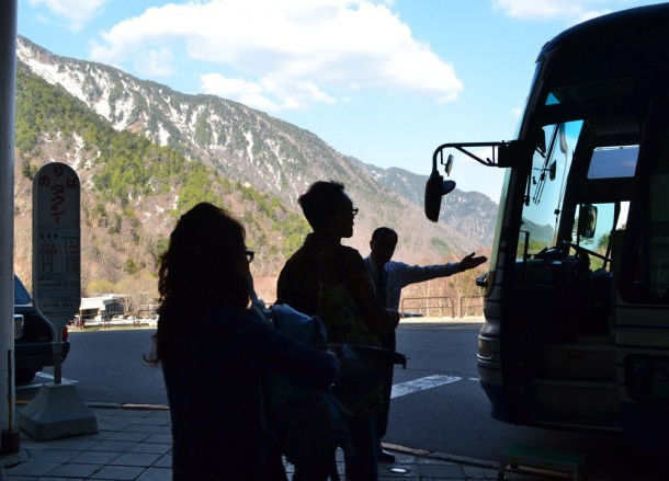 Ogizawa Bus, Alpine Route by JR Pass Japan