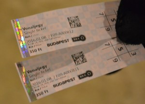 Single Ticket. Budapest Underground Metro Tourist Scam