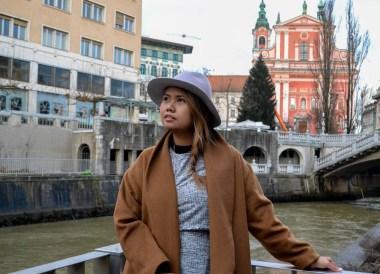 Ljubljana Riverside, Winter Road Trip in East Central Europe
