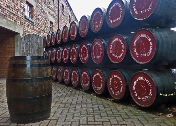 Bushmills Distillery, Top Causeway Coast Attractions Northern Ireland