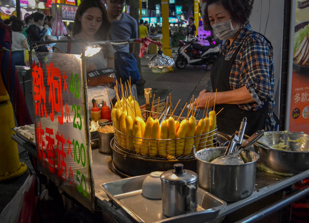 Taiwanese Hot Dog, What to Eat in Taipei? Taiwanese Street Food Favourites