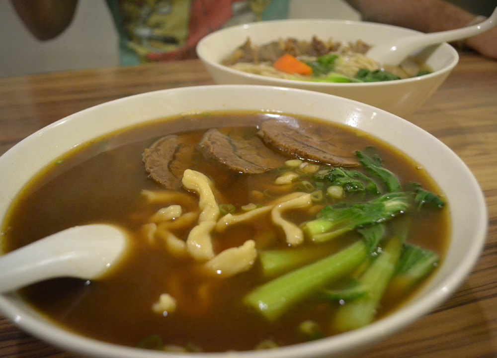 Beef Noodle Soup, Best Tourist Area in Taipei Ximending Ximen Metro Station