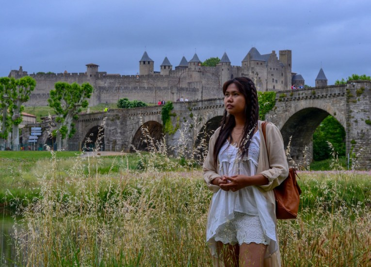 Pont Vieux Carcassonne, Road Trip in France Southern Borders June