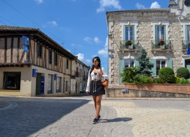 Villereal, Dardogne, Road Trip in France Southern Borders June