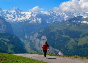 Hiking to Männlichen, Jungfrau 3 Day Travel Pass Best Attractions