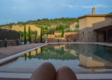 Hotel Villa Alquezar Huesca, Northern Spain, Medieval Village