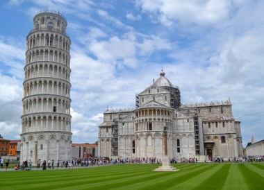 Pisa Tower, Road Trip in France Southern Borders June