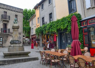 Carcassonne Restaurants, Road Trip in France Southern Borders June