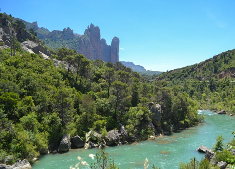 Mallos De Riglos, Road Trip in France Southern Borders June