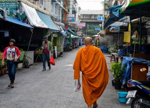 Local Streets, Living in Bangkok Suburbs, Ramkhamhaeng, Bangkapi, Ladprao