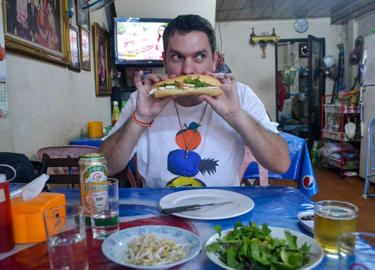 Allan Wilson, Best Restaurants in Vientiane Riverside Lao Food