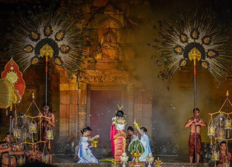Annual Festival, Prasat Phanom Rung Historical Park, Buriram Isaan Thailand