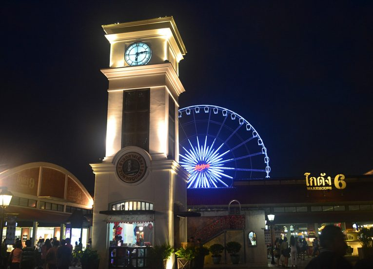 Asiatique Malls, Best Areas of Bangkok Riverside, Chao Phraya River, Thailand