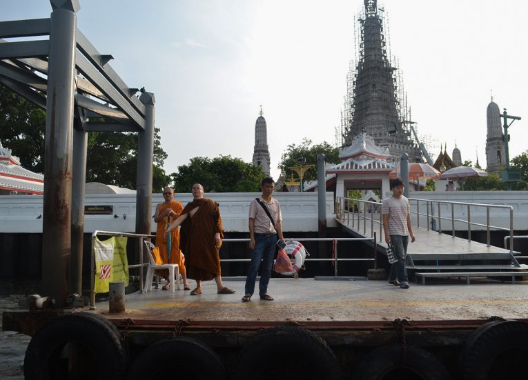 Wat Arun Pier, Best Areas of Bangkok Riverside, Chao Phraya River, Thailand