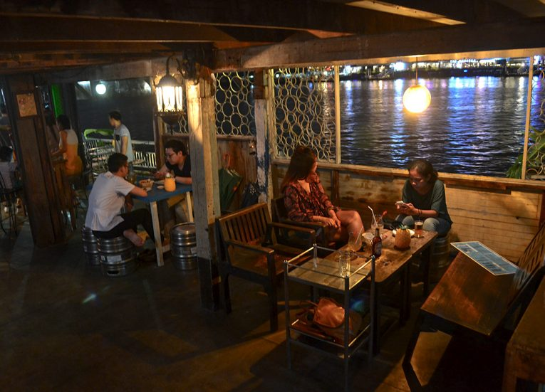 Wang Lang Bars, Best Areas of Bangkok Riverside, Chao Phraya River, Thailand